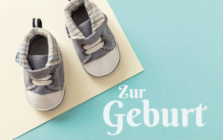 Bild von dem Produkt Zur Geburt Vorderseite