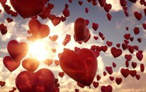 Bild von dem Produkt 1000 Herzballons