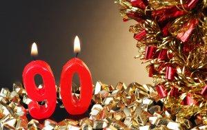 Bild von dem Produkt 90. Geburtstag