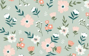 Bild von dem Produkt Abstrakt Blumenwiese