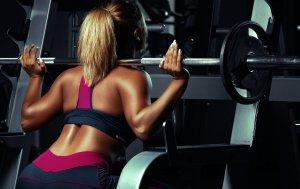 Bild von dem Produkt Blonde Gewichtheberin