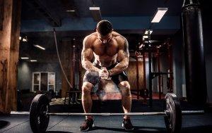 Bild von dem Produkt Bodybuilder mit Handelstange