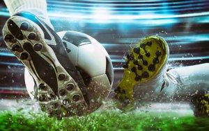 Bild von dem Produkt Fußballspiel Szene