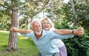 Bild von dem Produkt Glückliche Rentner