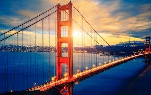Bild von dem Produkt Golden Gate Bridge San Fransisco