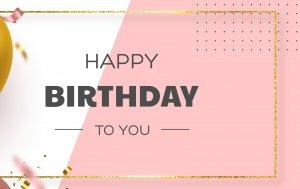 Bild von dem Produkt Happy Birthday to you