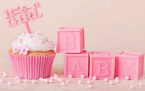 Bild von dem Produkt It's a Girl Cupcake