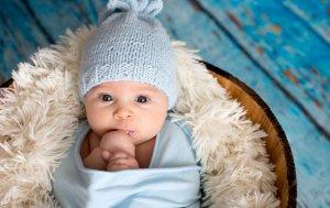 Bild von dem Produkt Kleiner Junge mit Mütze