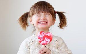 Bild von dem Produkt Mädchen mit Herzlutscher
