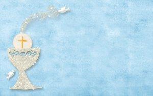 Bild von dem Produkt Taufe Hellblau