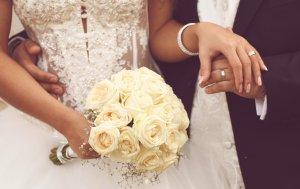 Bild von dem Produkt Weißer Hochzeitsstrauß