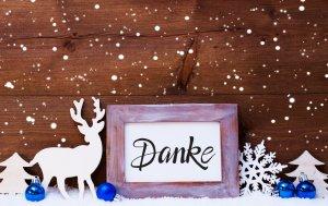 Bild von dem Produkt Winter Danke