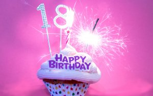 Bild von dem Produkt Zum 18. Geburtstag