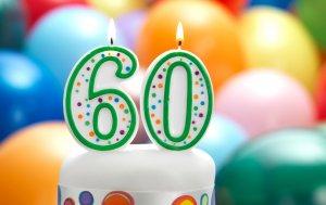 Bild von dem Produkt Zum 60. Geburtstag